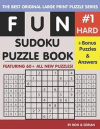 Fun Sudoku Puzzle book Hard #1 by Ron K image