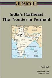 India's Northeast by Joint Special Operations University Pres image
