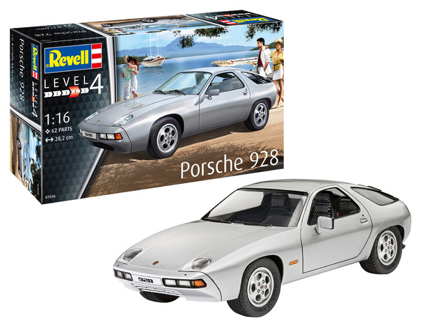 Revell: Porsche 928 - 1:16 Scale Model Kit
