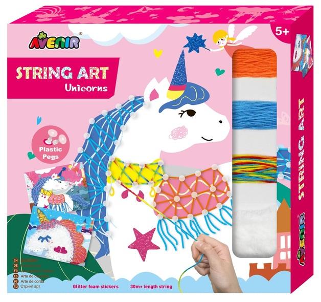 Avenir: String Art Display Kit - Unicorn