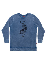 Bandits: Crouching Tiger Jumper - Vintage Blue (Size 12)