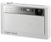 Sony DSCT20W 8.1 MP Digital Camera - White
