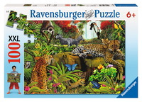 Ravensburger 100 Piece Jigsaw Puzzle - Wild Jungle