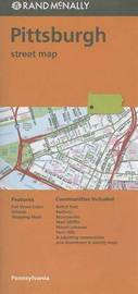 Folded Map Pittsburgh Streets, Pa by Rand McNally