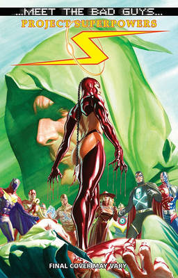 Project Superpowers: Meet The Bad Guys by Alex Ross image