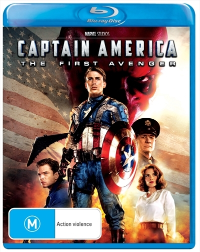 Captain America - The First Avenger on Blu-ray