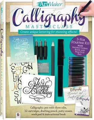 Art Maker Calligraphy Masterclass Kit (portrait) image