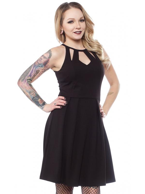 Sourpuss: Little Black Diamond Dress - (Large)