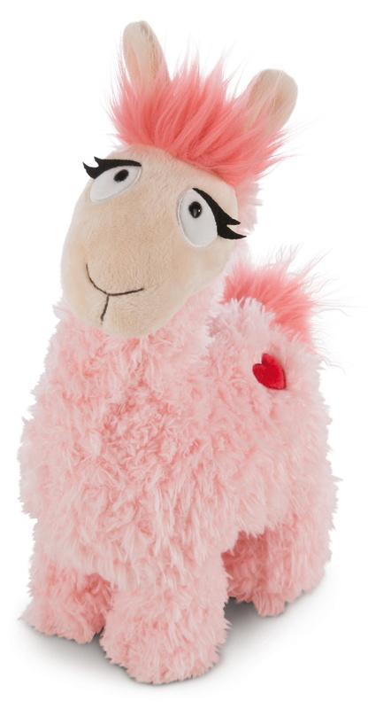 Nici: Llama Love (Pink) - 32cm Plush