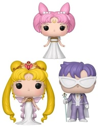 Sailor Moon – Neo Queen Serenity, Small Lady & King Endymion Pop! Vinyl 3-Pack