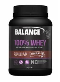 Balance 100% Whey Protein Powder - Chocolate (2.4kg)