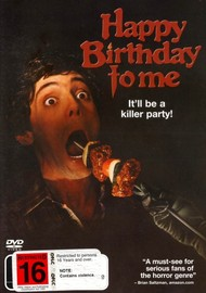 Happy Birthday To Me on DVD image