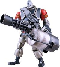 """Team Fortress 2 RED Heavy Robot 12"""" Action Figure"""