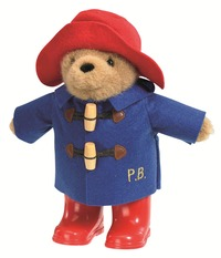Paddington Bear: Paddington With Boots Blue Coat (22cm)