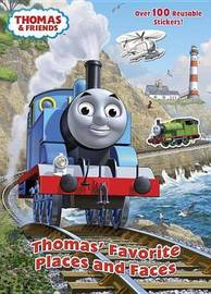 Thomas' Favorite Places and Faces by W. Awdry