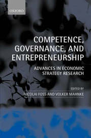 Competence, Governance, and Entrepreneurship