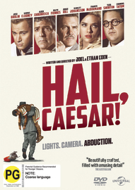 Hail Caesar! on DVD, UV image