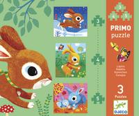 Djeco: Primo Puzzles - Rabbits