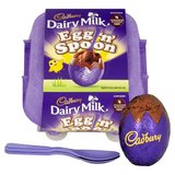 Cadbury Egg N Spoon Double Chocolate (136g)