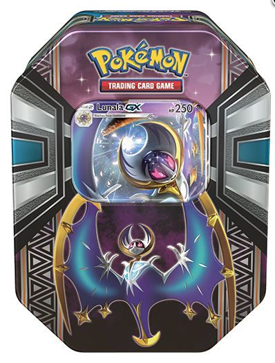 Pokemon GX TCG Legends of Alola Tin: Lunala-GX image