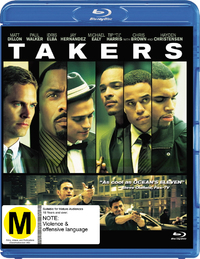 Takers on Blu-ray image