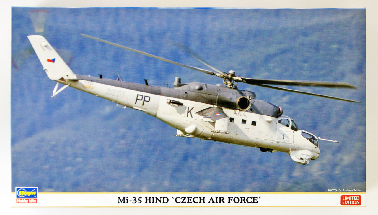 Hasegawa: 1/72 Mi-35 Hind Czech Air Force - Model Kit image