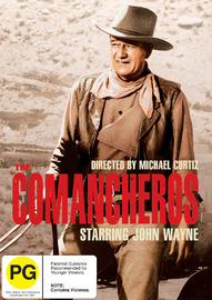 Comancheros on DVD