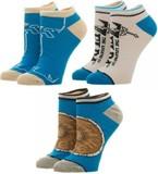 Legend of Zelda: BOTW - Ankle Socks Set (3 Pack)