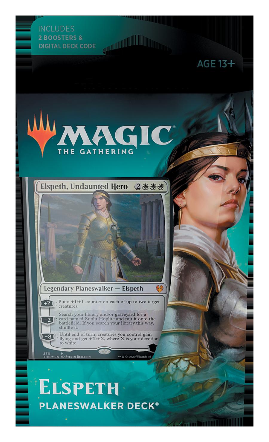 Magic The Gathering: Theros Beyond Death Planeswalker Deck- Elspeth image