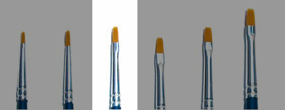 Italeri: Brush Synthetic Flat size 0