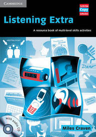 Listening Extra Book and Audio CD Pack: A Resource Book of Multi-Level Skills Activities by Miles Craven