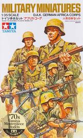 Tamiya D.A.K. German Africa Corps 1:35 Model Kit