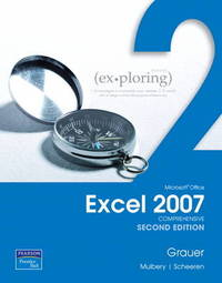 Exploring Microsoft Office Excel 2007: Comprehensive: Comprehensive by Cynthia Krebs image