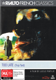 Too Late on DVD image