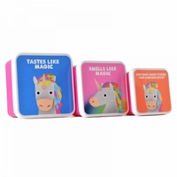Jolly Awesome: Lunch Box 3-Pack - Unicorn