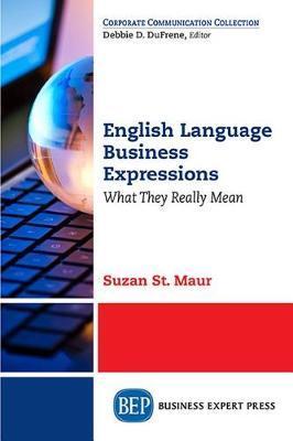 English Business Jargon and Slang by Suzan St.Maur image