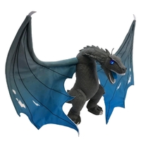 Game Of Thrones: Icy Viserion Dragon - Jumbo Plush