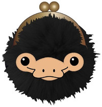 Harry Potter: Niffler Face - Kisslock Coin Purse