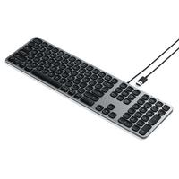 Satechi: Aluminium Wired USB Keyboard - Space Grey