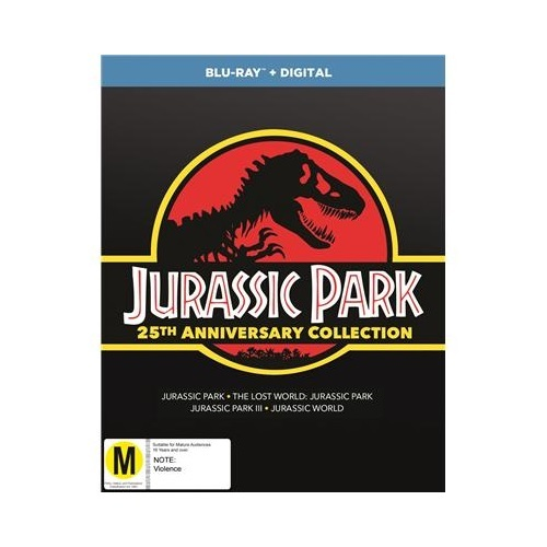Jurassic Park - Anniversary Gift Set (1-4) on Blu-ray