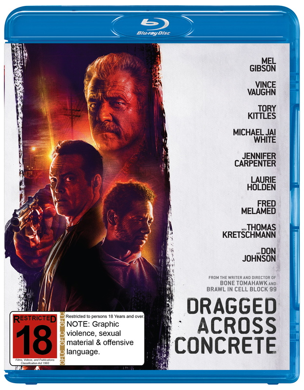 Dragged Across Concrete on Blu-ray