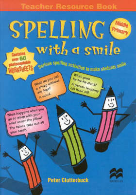 Spelling with a Smile-Mid Primary by Clutterbuc image