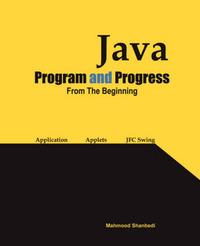 Java Program and Progress image