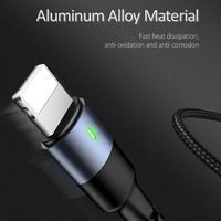 USAMS Colorful 4-in-1 Multifunctional Charging Cable - 3M