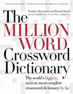 The Million World Crossword Dictionary by Stanley Newman image