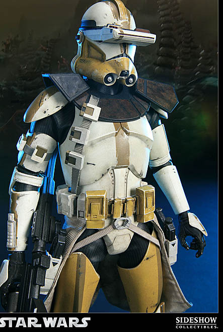 Star Wars Clone Commander Bly Action Figure At Mighty Ape Nz