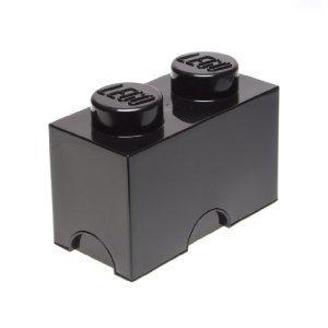 LEGO: Storage Brick 2 - Black