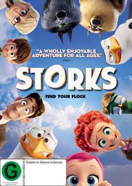 Storks on DVD