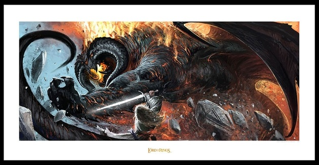 "Lord of the Rings: The Battle of the Peak - 23"" Art Print"