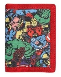 Marvel: Sublimated Trifold Wallet - Retro Collage